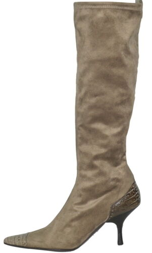 Miralles Sp Fabric £150 Boots New On Stretch Pull Pedro axCd0qOwa