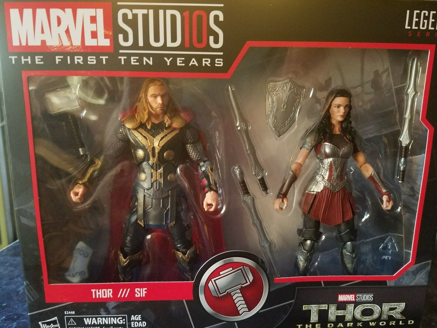 Marvel Legends THOR & LADY SIF MCU 10th Anniversary Studios Ten Years IN STOCK