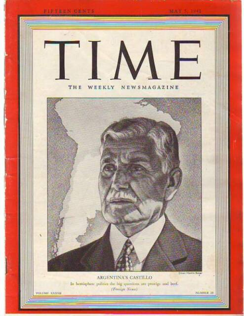 1941 Time May 5-Hitler to invadeTurkey next? Huey Long