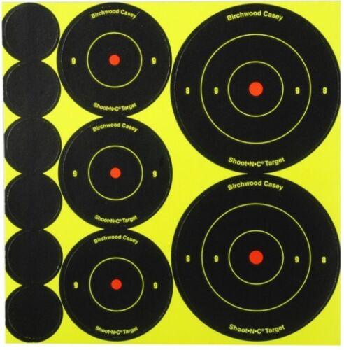 Birchwood Casey High Viz Shoot N obiettivi di ripresa C Air Rifle//Pistola-Tutte le Taglie