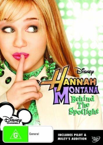 1 of 1 - Hannah Montana - Behind The Spotlight : Vol 1 (DVD, 2007) Region 4 DVD Used VGC