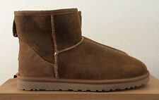 Mens Sz 9 UGG Classic Mini Bomber Jacket Chestnut 1007307 BJCE Brown Boots