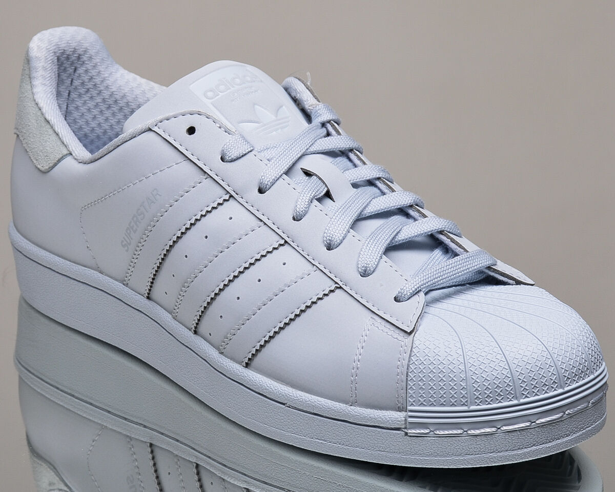 adidas Originals Superstar adicolor Homme lifestyle sneakers NEW  Bleu  Gris