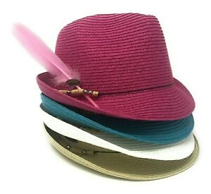 Panama-Jack-Women-s-Breast-Cancer-Awareness-Beaded-Band-Fedora-amp-Pink-Feather