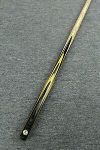 034-Grand-034-Emperor-Series-1-piece-Ash-Shaft-Black-Ebony-Handmade-Snooker-Cue-1184