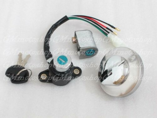 Ignition Switch Gas Cap Cover Key For Honda Rebel 450 250 CMX 250 450 #GMG