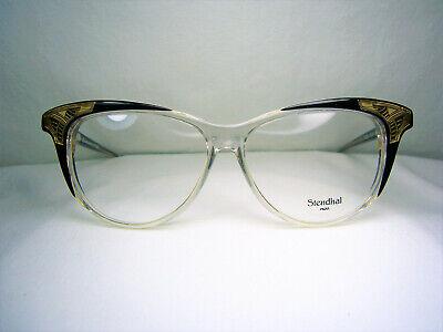 square luxury eyeglasses Wayfarer frames NOS Stendhal hyper vintage oval ultra rare women/'s