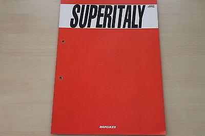 Sales Brochures Ducati 750 Ss Prospekt 199? Learned 167370