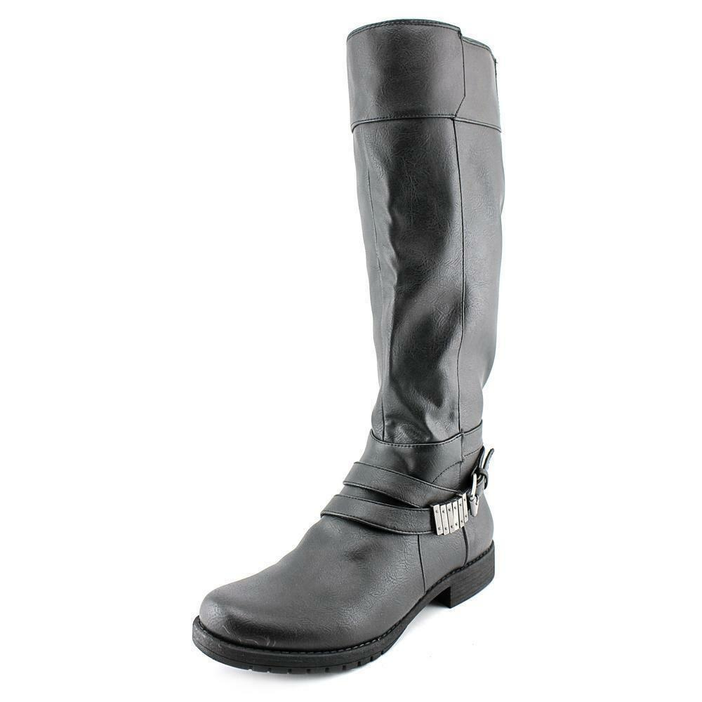 NEW WOMENS LIFE STRIDE BLACK MAXIMIZE KNEE HIGH BOOTS SIZE 9M 9 M