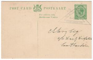 I-B-South-Africa-Cinderella-Philatelic-Exhibition-Postcard-East-London