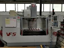 Used Haas Vf 5 40 Taper Cnc Vertical Machining Center Mill Side Mount Ct40 1999