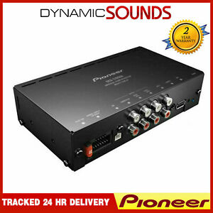 Pioneer DEQ-S1000A Plug and play Dsp with 4 Channel Amplifier Digital Sound New