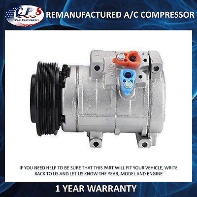 AC Compressor Clutch Fits 2004 2005 2006 Toyota Sienna Reman 97310