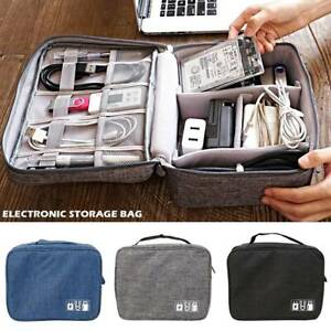 Electronic-storage-bag-CAB-Charger-Storage-Case-Cable-Organizer-Bag-Travel-NEW