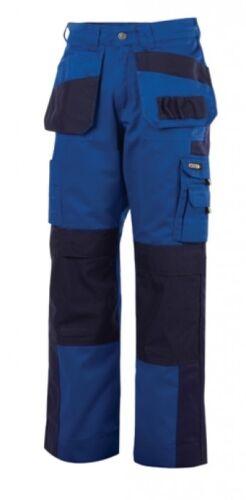 Arbeitshose Seattle kornblau dunkelblau schwere Ausführung