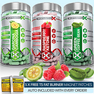 RASPBERRY-KETONE-GREEN-COFFEE-BEAN-EXTRACT-GARCINIA-CAMBOGIA-DIET-PILLS