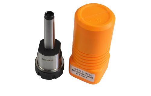 Precision Milling Collet Chuck ER32 Holder MT-2 Morse 2 Drawbar Thread M10
