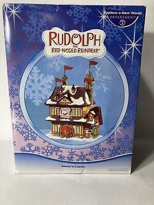 Dept 56 Rudolph The Red Nose Reindeer Santa S Castle Ebay,Ikea Raskog Rolling Cart