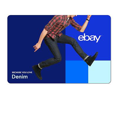 Because You Love Denim for Men - eBay Digital Gift Card $15-$200