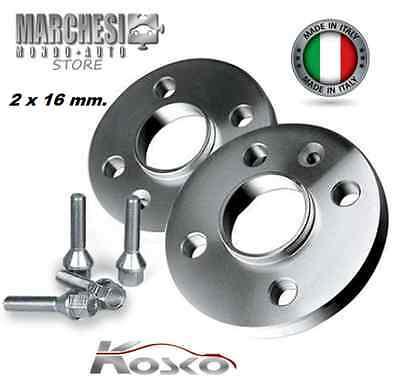 COPPIA DISTANZIALI DA 20mm PROMEX MADE IN ITALY MINI ONE,COOPER,CABRIOII SERIE