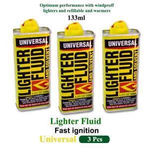3x-Premium-FLUID-Solvent-Lighter-Refill-Hand-Warmer-Fuel-Petrol-133ml