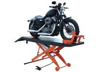 New Titan 1,000 lbs. Motorcycle Lift with Front Wheel Vise and Front Extension