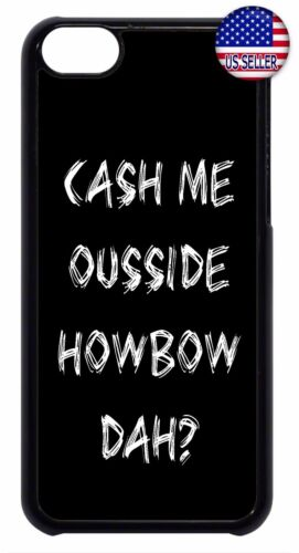 New Slim Hard Case Cover For Apple iPod 4 5 6 Funny Quote Catch Cash Me Outside