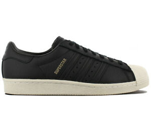 Adidas Originals Anni Da Nere Scarpe Sneaker '80 Leather Superstar Ginnastica RRrdwq