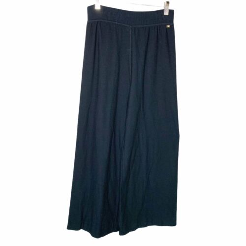Sonia Rykiel Paris Wide Leg  Knit Lounge Pants Si… - image 1