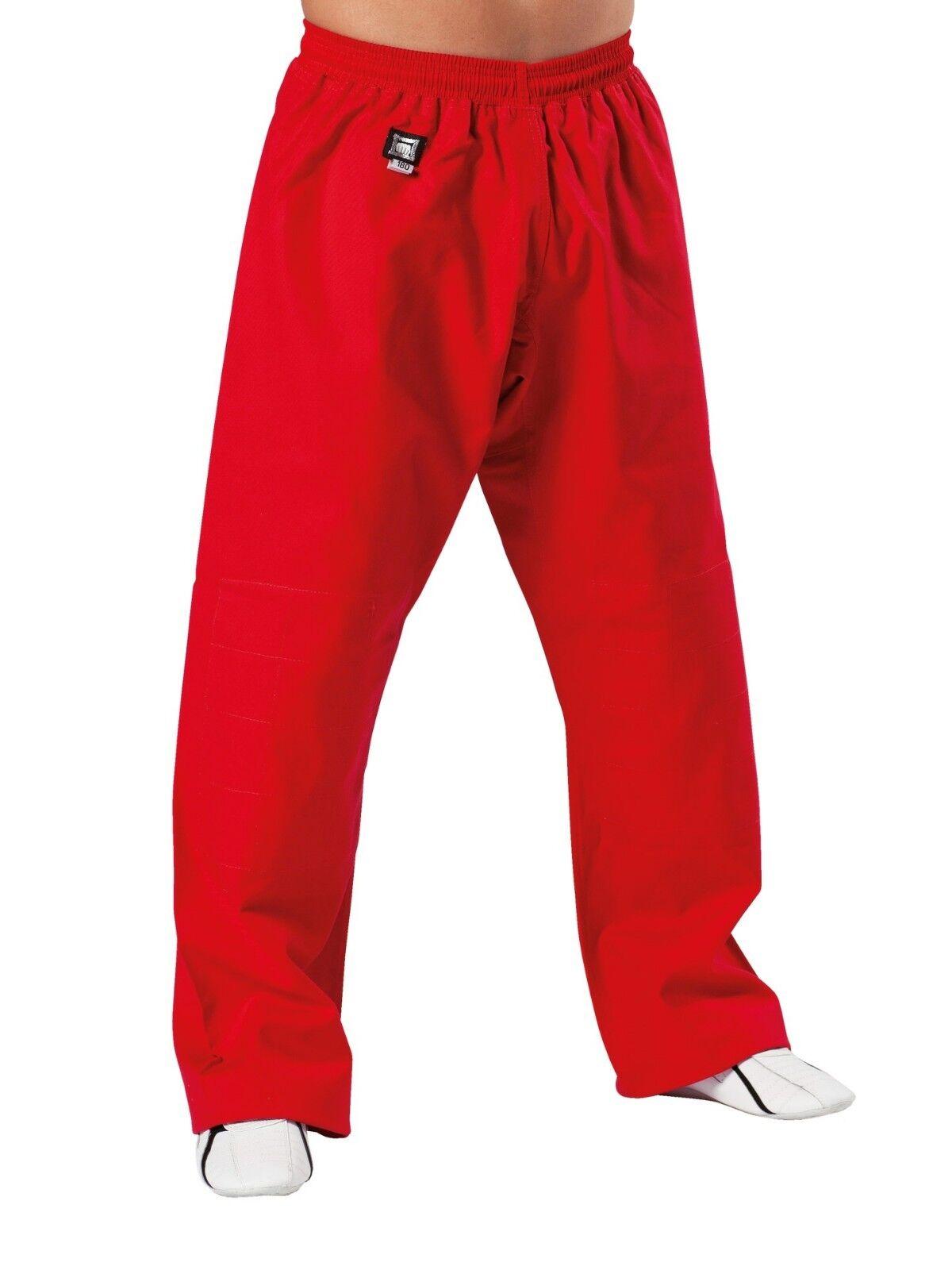 Kwon SV Specialist Hose in rot, 12Oz, in 180 od. 190cm. Ju Jutsu, Karate, SV,BJJ