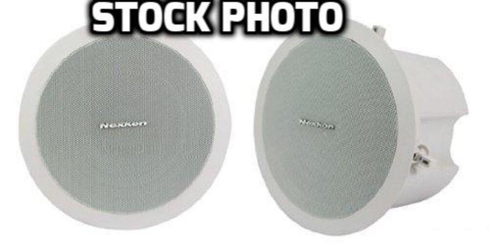 Case of 4 Nexkon CS-30 Ceiling speakers 30W