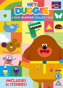 Hey-Duggee-Bumper-Collection-DVD-2016-Grant-Orchard-cert-U-3-discs-NEW