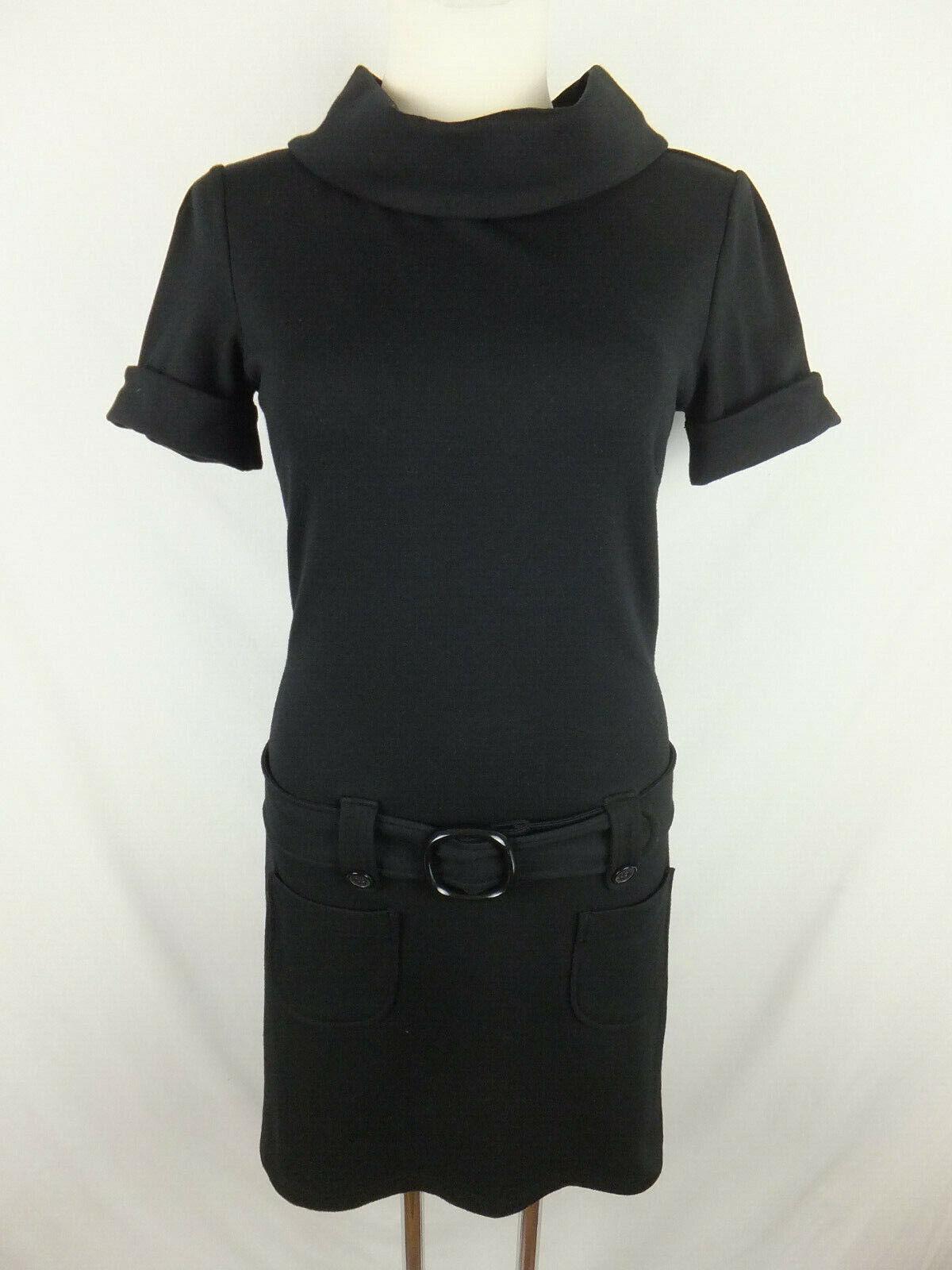 Hallhuber Basics sweatkleid - 36-S-Black Dress-Shirt Dress-Excellent Condition