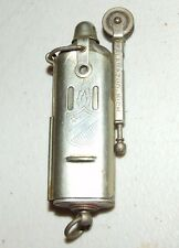 Vintage WWII Bowers Mfg Army Military Flip Slide Sleeve Trench Cigarette Lighter