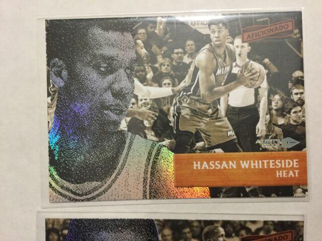 2016-17 Aficionado Base Set Artist's Proof #88 Hassan Whiteside - Miami Heat
