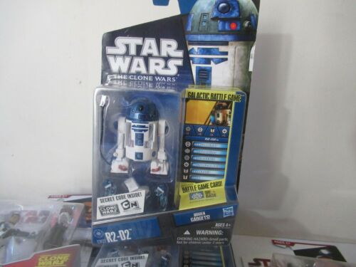 Star Wars Clone wars R2-D2 CW27 Comme neuf on Card