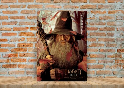 The Hobbit Gandalf Poster or Canvas Art Print A3 A4 Sizes Framed Option