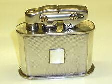 KW (KARL WIEDEN) SEMI-AUTOMATIC TABLE LIGHTER W. 925 STERLING SILVER CASE-GERMAN