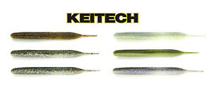 Keitech-Sexy-Impact-3-8-034-10pk-Soft-Plastic-Paddle-Tail-Bass-Fishing-Swimbait