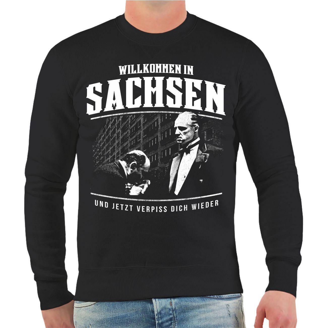 Pullover Pullover Pullover Willkommen in Sachsen Größe S M L XL XXL 3XL 4XL 5XL 6XL 7XL 8XL 10XL | Hochwertige Produkte  75d1ce