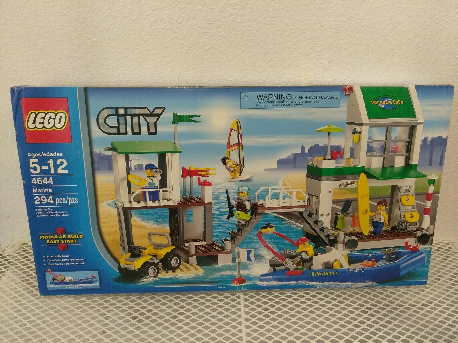 Lego City Harbor Marina 4644 Kit de construcción