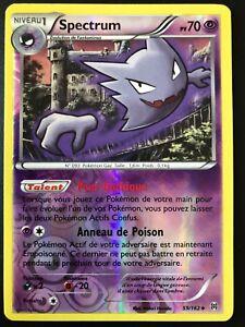 Carte Pokemon  SPECTRUM   59//162   PV 70  REVERSE  NEUVE