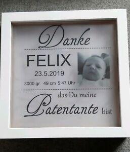 Details Zu Led Bilderrahmen Beleuchtet Geburt Taufe Baby Nachlicht Lampe Paten Geschenk
