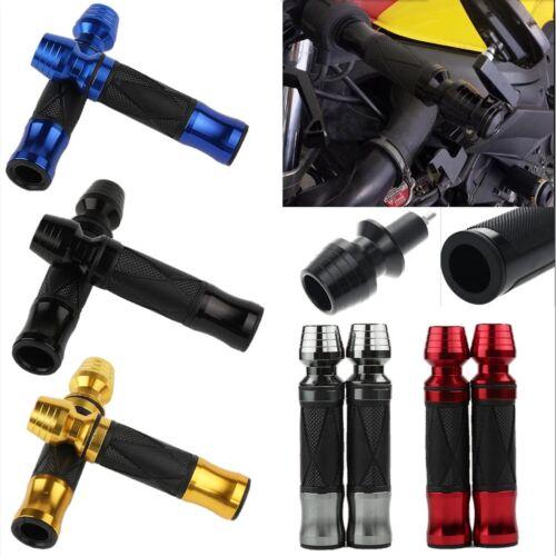 "Motorcycle Racing Bikes Aluminum 7//8/"" Hand Grips Handle Bar For Honda Yamaha 2x"