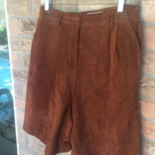 Women's Vintage Lord & Taylor Suede 80's Leather B