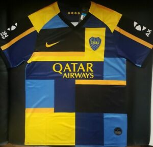 Détails sur Maillot boca juniors special collector 2020 SHIPPING 34 WEEKS size SMLXL