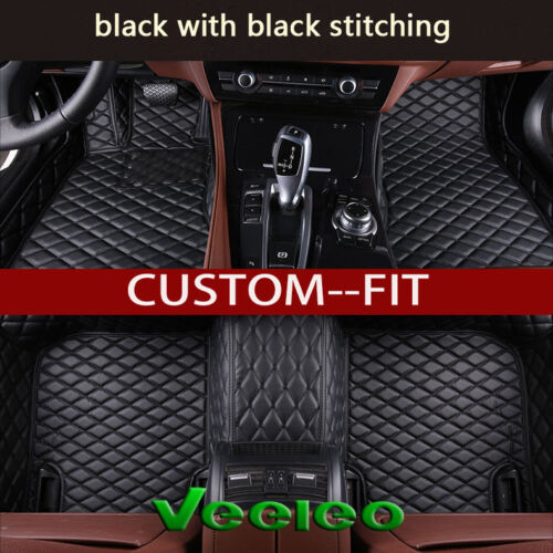 6 Colors Car Floor Mats for Nissan Rogue T32-7 Seat 2014-2018 Leather Car Mats