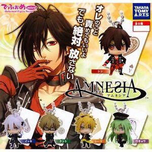 AMNESIA Takara Tomy Arts Gashapon 5set complete mini figure toys