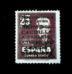 1950-Espana-N-1083-Visita-Del-Caudillo-a-Canarias-Replica