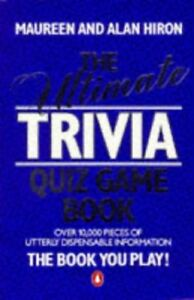Very-Good-The-Ultimate-Trivia-Quiz-Game-Book-Book